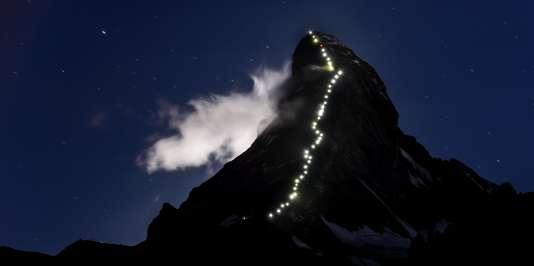 Le mont Cervin, en 2015.