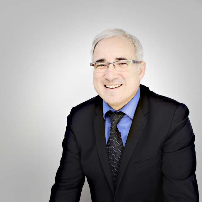 Portrait de Vincent Giret en 2013.