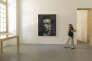 """""""Patrice Chéreau """", peinture de Yan Pei Ming (2015), présentée au sein de l'exposition """"Patrice Chéreau, un musée imaginaire"""", à la Collection Lambert, à Avignon."""
