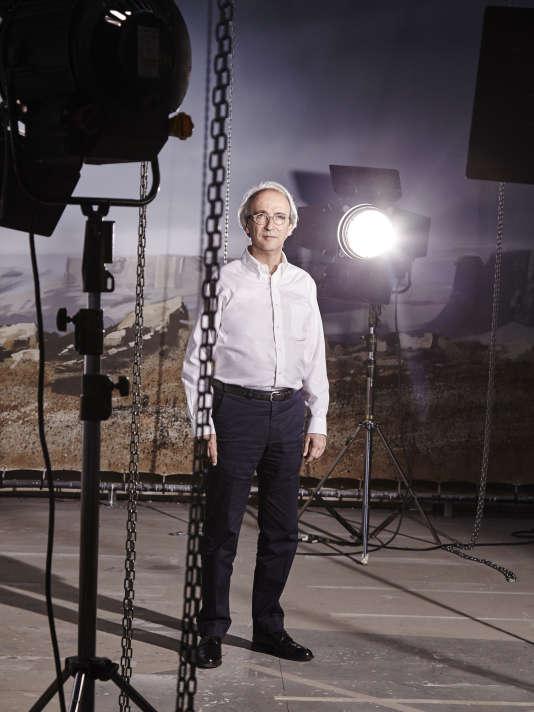 Marc Nicolas, directeur de la Femis, dans un des plateaux de tournage de la Femis, le 3 juillet 2015