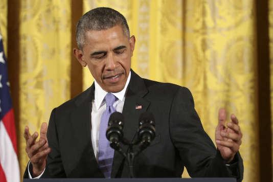 Barack Obama à la Maison Blanche, le 15 juillet.