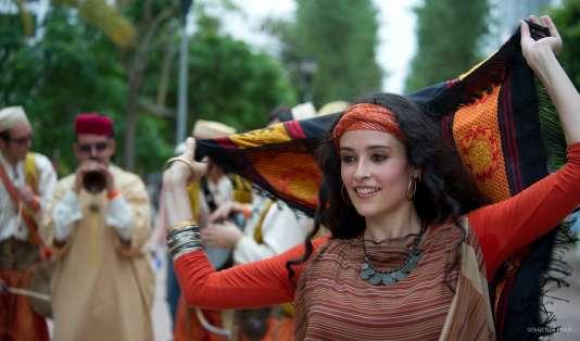 L'une des interprètres de la troupe Ziyara.