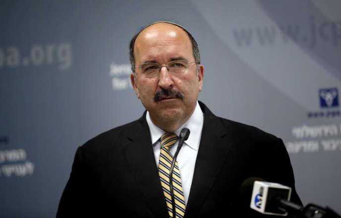 Dore Gold, le directeur général du ministère des affaires étrangères israélien, le 1er juin 2015.
