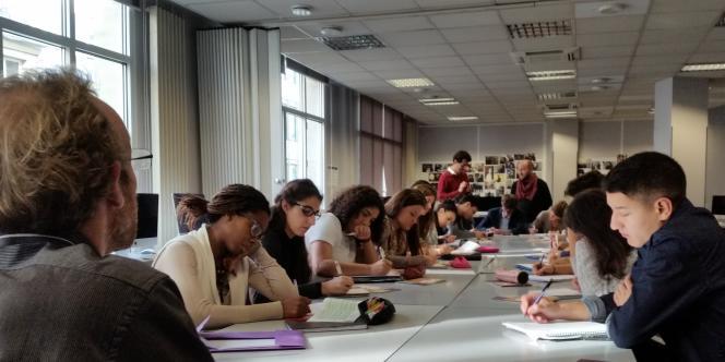 Un atelier de la Chance aux concours,  à Paris en 2015.