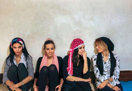 Les mannequins iraniens se réunissent pour s'entraîner en vue des défilés organisés par Darab Fashion Week, du 19 au 21 juillet.