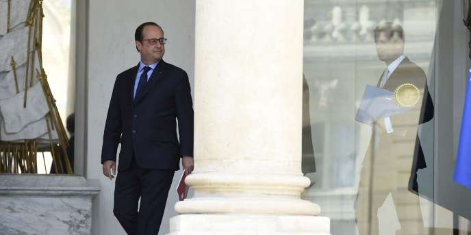 Le président François Hollande et le premier ministre Manuel Valls à l'Elysée, juillet 2015.