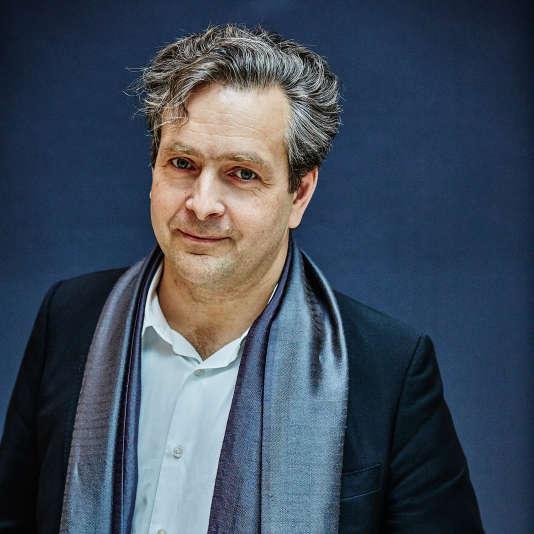 Historien d'art et directeur de la Villa Médicis, Eric de Chassey, ici en 2014, est aussi le mari d'une amie de Julie Gayet.