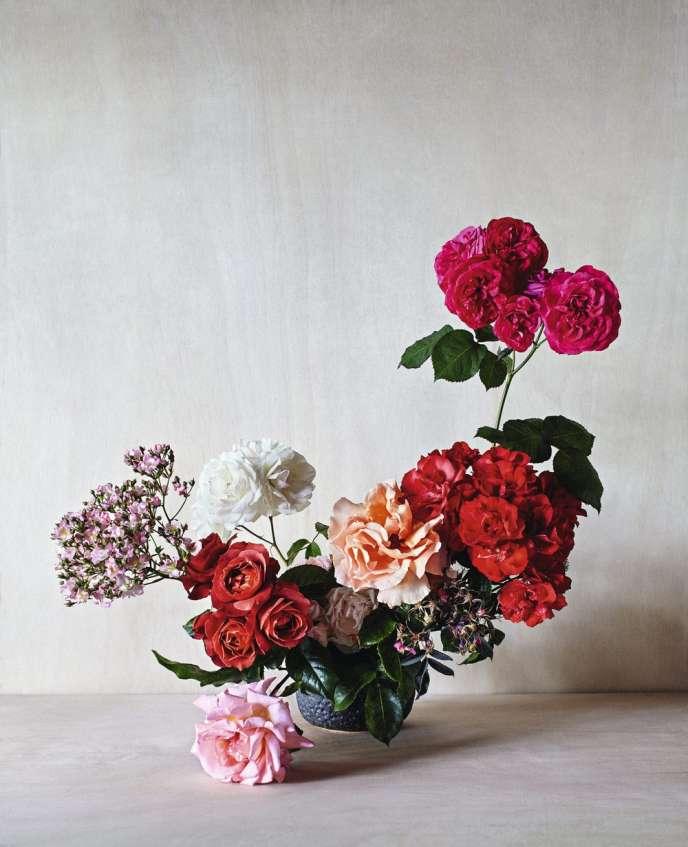 Simone Gooch, fleuriste australienne spécialisée dans l'événementiel, a mis en scène les roses.