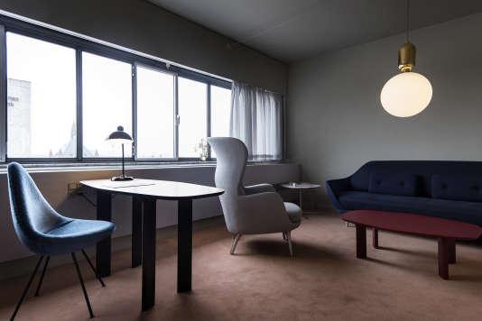 Coup d air frais sur le design danois for Chambre design danois