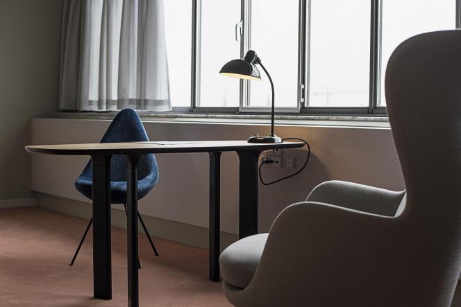 La suite 506 du Radisson SAS Royal Hotel à Copenhague.