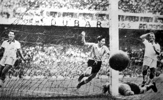 Le but de Ghiggia au Maracana en finale de la Coupe du monde de 1950.