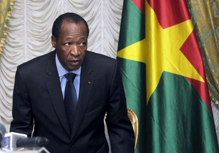 Blaise Compaoré, le 26 juillet 2014, trois mois avant sa chute.