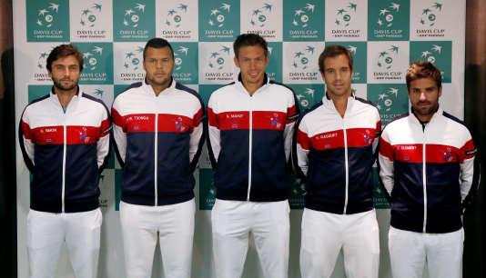 L'équipe de France affronte, à Londres, l'Angleterre en quarts de finale de la Coupe Davis