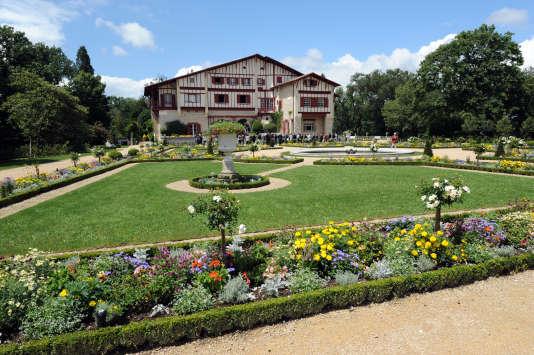 La Villa Arnaga  d' Edmond Rostand, 7 juillet 2014  à Cambo-les-Bains (Pyrénées-Atlantiques).