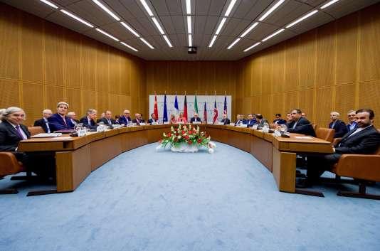L'accord sur le nucléaire iranien a été signé à Vienne, le 14 juillet 2015.
