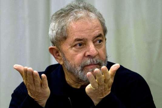 L'ancien présidentLuiz Inacio Lula da Silva, le 16 juillet 2015.
