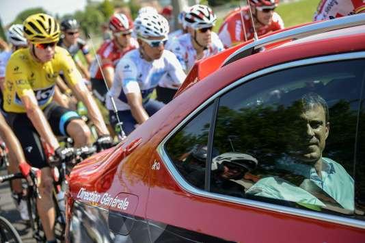 Manuel Valls a assisté, le 16 juillet, à la 12e étape du Tour de France.