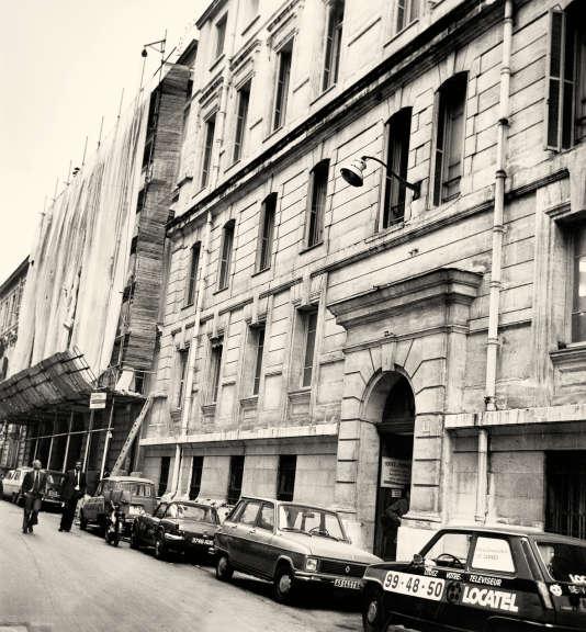 Le palais de Justice de Nice d'où s'est enfui Albert Spaggiari en 1977.