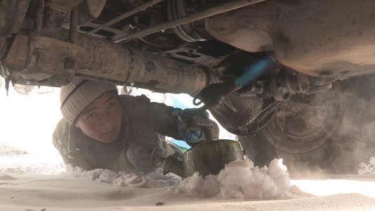 """""""Les routes de l'impossible"""" au Tadjikistan."""