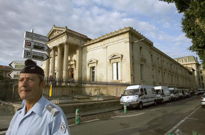 Le palais de justice de Perpignan, en 2007.