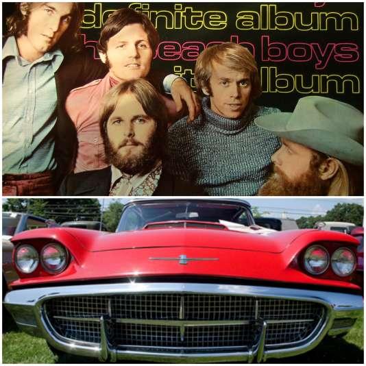 """Les Beach Boys chantaient la Ford Thunderbird dans """"Fun, Fun, Fun"""" en 1955."""