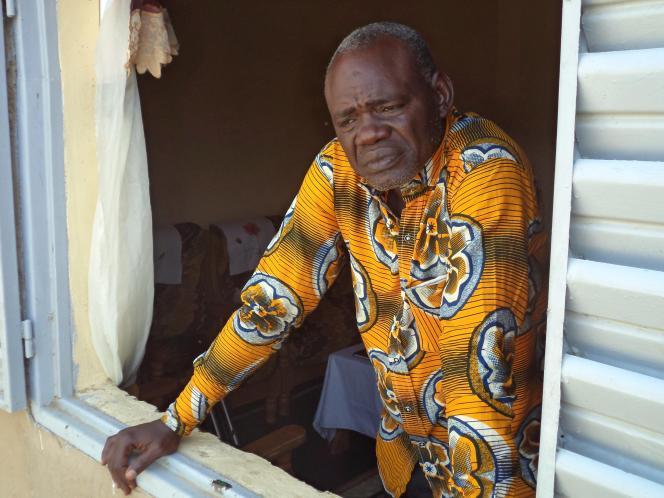 Clément Abaïfouta, à Ndjamena, Tchad, en juillet 2015.
