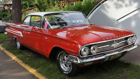 La Chevrolet Bel Air Sport Coupe, dans sa version 1960.