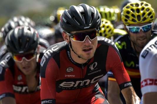 Tejay Van Garderen lors de la 13e étape du Tour de France, entre Muret et Rodez.