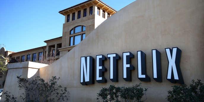 Au siège californien de Netflix, à Los Gatos, en janvier 2014.