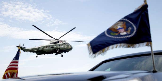 Sikorsky, qui fabrique le Marine One, l'hélicoptère de la présidence américaine est malmené par les coupes dans les budgets militaires, couplées à la hausse des coûts de développement des nouveaux appareils.