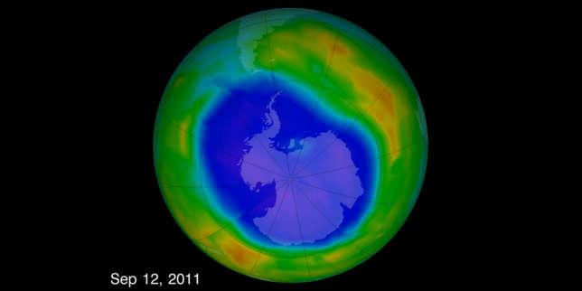 Le trou dans la couche d ozone est en train de se r sorber - Couche d ozone en anglais ...