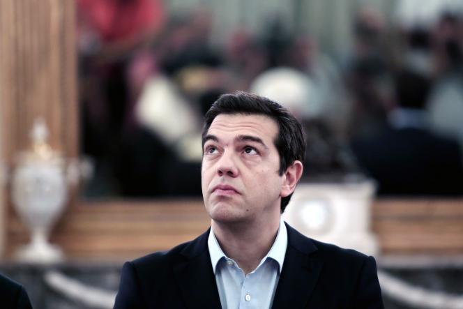 Alexis Tsipras, le 18juillet.