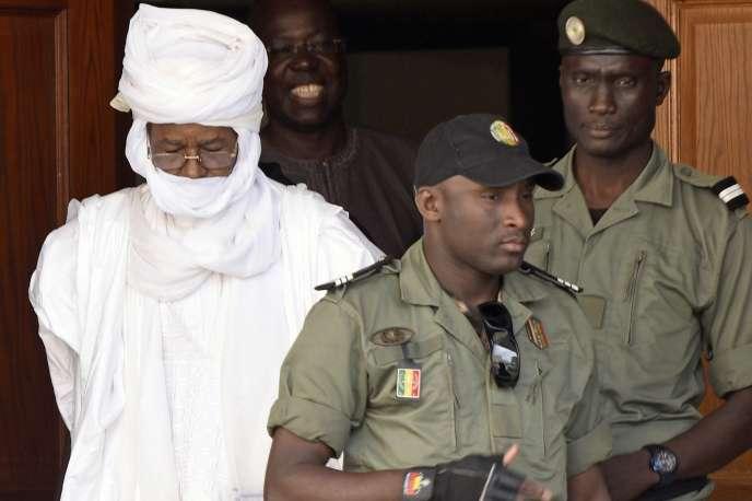 Hissène Habré, le 3 juin 2015 à Dakar.