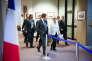 Angela Merkel, à l'issue du sommet de la zone euro, lundi 13juillet, à Bruxelles.