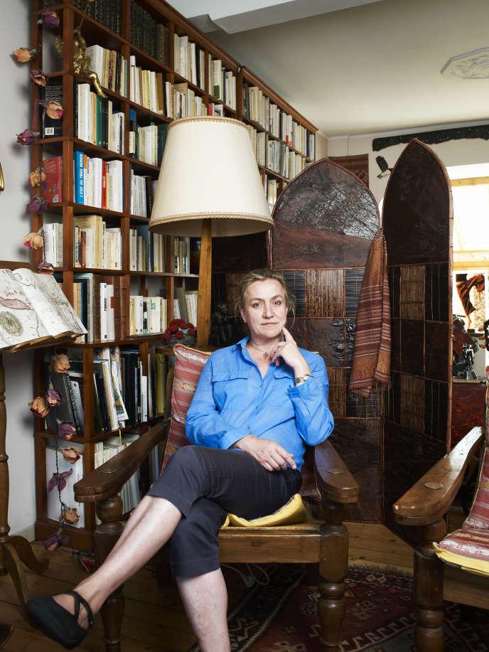Irene Frachon à  son domicile de Brest le 16 juin 2015.