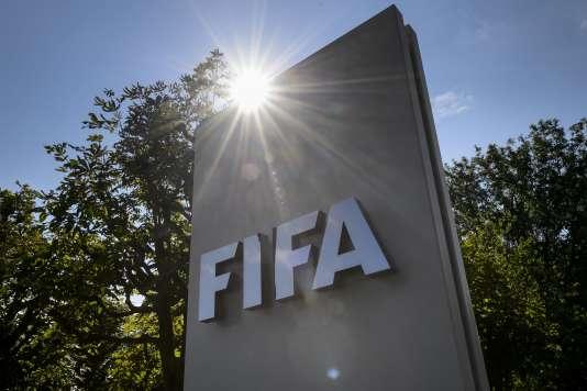 Le siège de la FIFA, à Zurich (Suisse), le 20 juillet.
