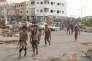Des combattants anti-houtistes, le 16 juillet à Aden.