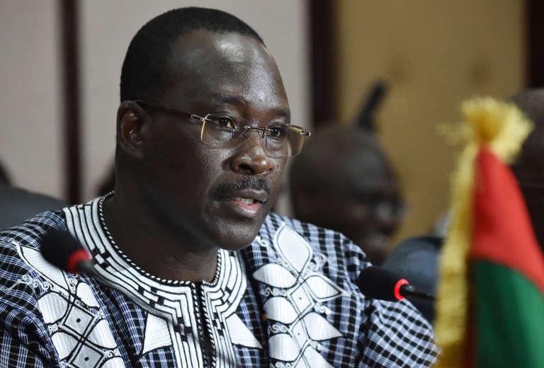 Le premier ministre, Isaac Zida, à Abidjan le 6 juillet 2015.