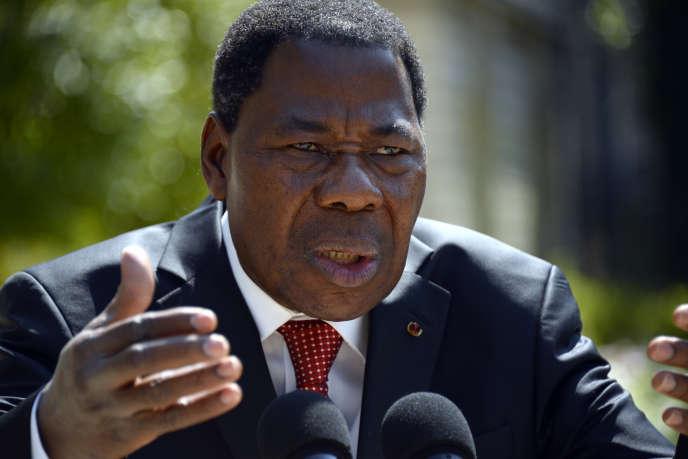 Le président béninois, Thomas Boni Yayi, le 9 juin à Paris.