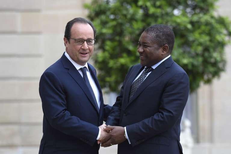Le président François Hollande reçoit son homologue mozambicain, Filipe Nyusi, le 20 juillet à l'Elysée.