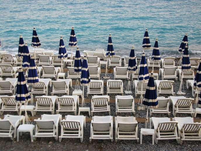 Une plage privée.