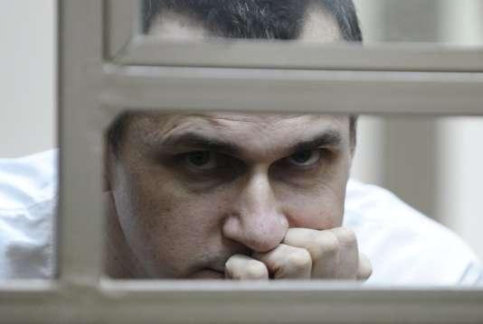 Oleg Sentsov le 21 juillet à Rostov-sur-le-Don.