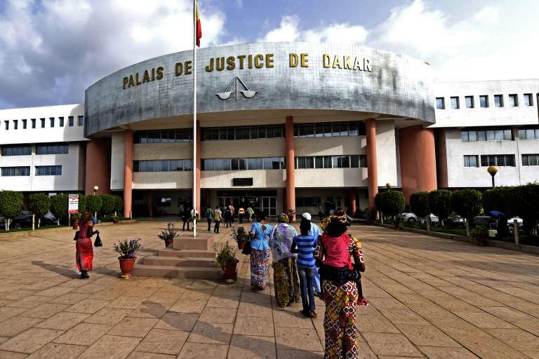Le palais de justice de Dakar, qui abrite, depuis le 20 juillet 2015, les audiences du procès de l'ancien dictateur tchadien, Hissène Habré.