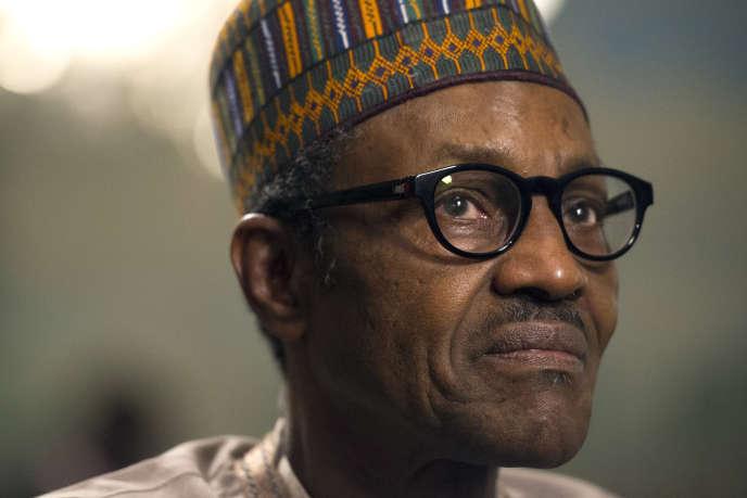 Le président nigérian, Muhammadu Buhari, à Washington, en juillet2015.