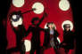 De gauche à droite, John Cale, Andy Warhol, Nico et Gérard Malanga, en 1966.