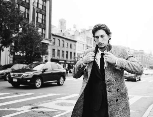 Adam Driver à New York le 4 octobre  2012.