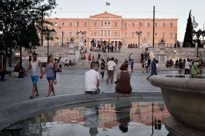 Le premier ministre grec, Alexis Tsipras, fait face à un nouveau défi mercredi 22 juillet.