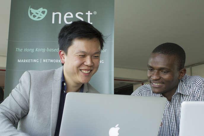 Aaron Fu, le directeur du bureau de Nest au Kenya.