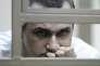 Le réalisateur Oleg Sentsov, le 21 juillet à Rostov-sur-le-Don (Russie), au premier jour de son procès.