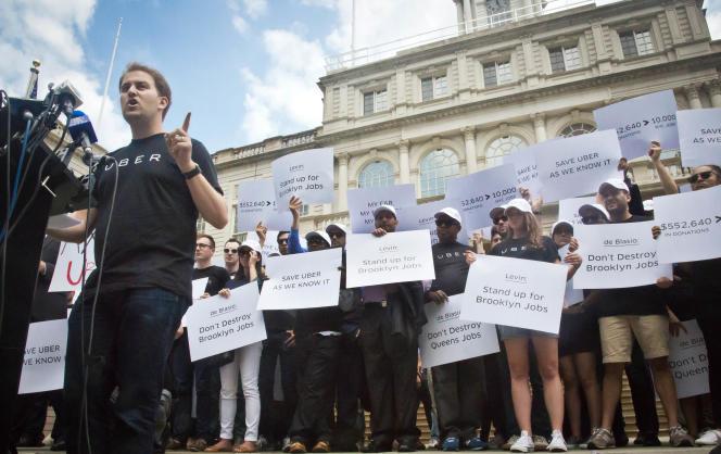 Uber cherche à souligner que s'il est facile de trouver un taxi à Manhattan, les quartiers du Queens, de Brooklyn ou du Bronx sont beaucoup moins bien desservis.